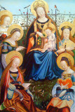 South German Triptych of the Virgin and Child with Saints, 1505/15, Art Institute of Chicago