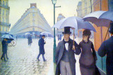 Gustave Caillebotte, French, 1848-1894, Paris Street; Rainy Day, 1877, Art Institute of Chicago
