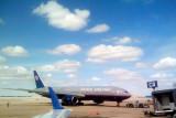 The Big blue sky awaits