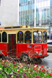 Trolley around downtown, Chicago