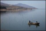 Fishermen at Lake Kerkini