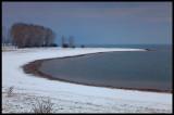 Lake Kerkini in snow