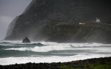 NW storm at Faja Grande - Flores (The Azores)