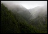 Caldeiras - steep road down to Ribeira Grande