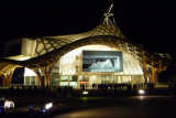 Night view of the museum