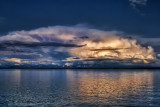 2173 Clouds Over Yellowstone Lake