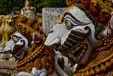 Guardian lions, Orissa style