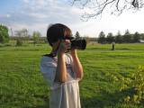 Taking pictures ...