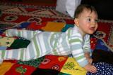 Florian sur le super tapis (P3146)