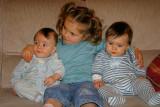 Les twins et Léane (P3215)