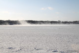 Lake Blowing Snow (4039)