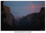 Tunnel View at Sunset