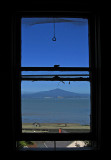 View of Mt.Tamalpais through  the Captain's cabin window .. 4899