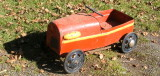 The boys pedal car,40 years old,
