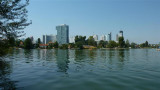 UNO city from the old danube