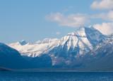 z P1080391 Snowy moutains across Lake McDonald from Apgar in Glacier.jpg
