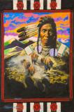 pbz21 P1040542 Warrior and buffalo - by William Sitting Bull.jpg
