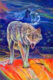 pbz22 P1040544 Wolf  spirits - by William Sitting Bull.jpg