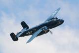 B-25J  Mitchell  bomber