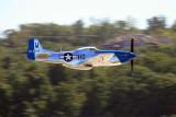 P-51D Mustang Moonbeam McSwine low pass.