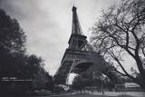 陰天的巴黎~調黑白有FU多了