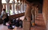 classe éveil au musée des Augustins