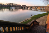 Aprés midi d'hiver sur le pont neuf