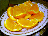 Oranges for breakfast