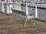 Bench in Marina