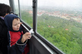 Inside Petrin Hill Tower