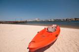 Sea kayak in the Sun