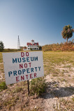 Museum and Sign - Peanut Island