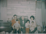 Our family with our grandfather