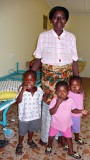 Kojo, Martha, Mary & Grandma