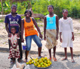 Orange Seller + Family