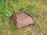 Wheel-less barrow 0021