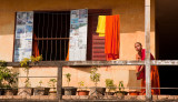 Monk at home in Vientiane