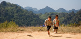 Hmong girls in the Mountains
