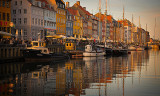 Nyhavn Canal Spring Sunset