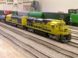 Santa Fe B39-8 and SDF40-2 @ Mojave