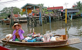 Daily life at Bangkok river