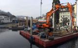 Neuer Reusswehr im Bau