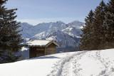 Romantic hut on Wirzweli