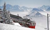 train to winter paradies mount Rigi