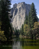 Cathedral Rocks & The Merced River