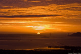 Sunset Behind Golden Gate