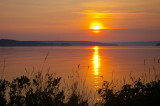 Sunrise, Munising Bay