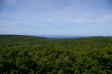 View toward Superior from Porcupine Mountains