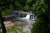 Falls at Presque Isle River