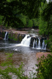 Falls at Presque Isle River 2